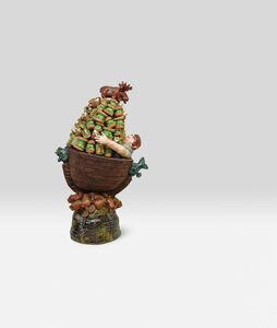 David Gilhooly, 'Hoarding My Frog Food', 1982