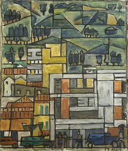 Julio Alpuy, 'Vista de Caracas con el 34', 1957