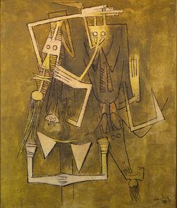 Wifredo Lam, 'Les Jumeaux, II ', 1963