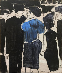David Schneuer, 'Café', 1987