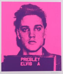 Russell Marshall, 'Just Elvis (Pink)', 2012
