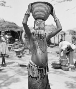 Hector Acebes, 'Unidentified Girl, Chad', 1949