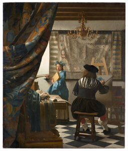 Johannes Vermeer, 'The Allegory of Painting', ca. 1666