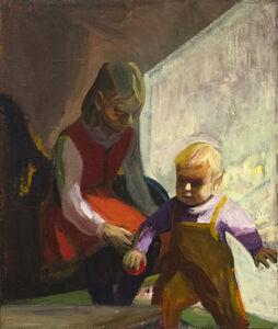 James Weeks, 'Two Children', 1965