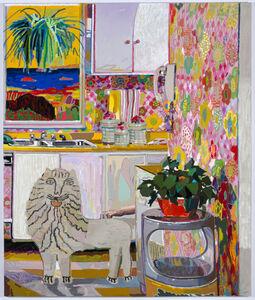 Leon Benn, 'Lion in the Kitchen', 2019
