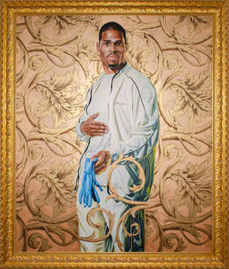 Kehinde Wiley, 'Portrait of a Lady', 2006