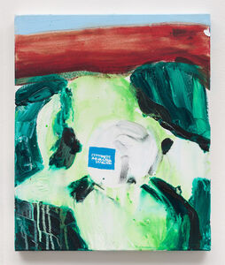 Brian Maguire, 'American Express', 2015