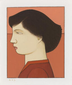 Andrew Stevovich, 'Woman in Red Blouse', 2007