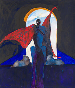 Fritz Scholder, 'Possession with Clouds', 1989