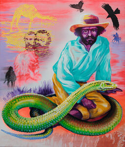 Nana Ohnesorge, 'Life Support, Portraits of Watpipa and Dick, Aboriginal Guides to the Burke and Wills Expedition', 2015
