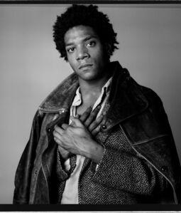 Richard Corman, 'Basquiat A Portrait III', 1984