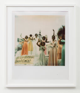 Sadie Barnette, 'Untitled (Queen and Court)', 2018