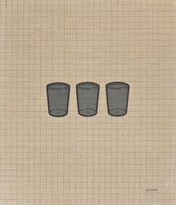 Tino Stefanoni, 'I bicchieri 67D', 1975
