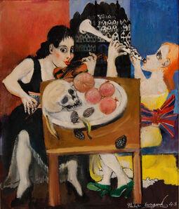 Philip Evergood, 'The Duet', 1948