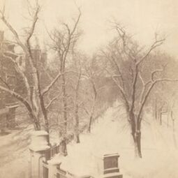 Josiah Johnson Hawes, 'Boston Common Snow Scene', 1850s