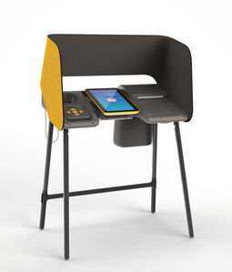 IDEO, 'Los Angeles County Voting Booth (Prototype; to be produced for 2020 election)', 2015
