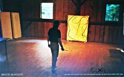 """Nan Golden's """"Brice Marden's Studio"""" 1995 (Hand Signed)"""