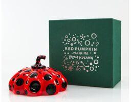 Yayoi Kusama, 'Naoshima Pumpkin - Red and Black', 2019