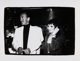 Andy Warhol, 'Andy Warhol, Photograph of Halston and Liza Minnelli, 1979', 1979