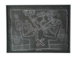 """Keith Haring, 'Untitled NYC Subway Drawing """"TV Hydra""""', 1980-1985"""