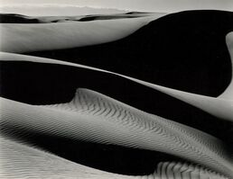 Edward Weston, 'Dunes, Oceano, California', 1936