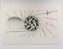 James Rosenquist, '1/2 Sunglass, Landing Net, Triangle', 1974