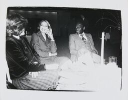 Andy Warhol, 'Andy Warhol, Photograph of Jerry Hall and Pelé, 1980', 1980