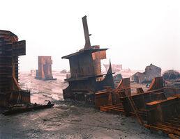 Edward Burtynsky, 'Shipbreaking #10, Chittagong, Bangladesh', 2000