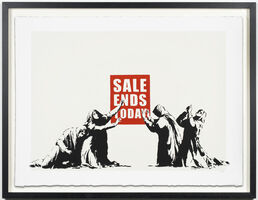 Banksy, 'Sale Ends Today'