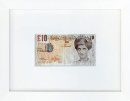 Banksy, 'DI-FACED TENNER (10 GBP NOTE)', 2004