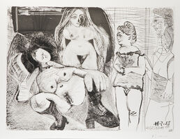 "Pablo Picasso, 'Untitled from the ""156 Series', 1971"