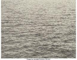 Vija Celmins, 'Drypoint-Ocean Surface', 1983