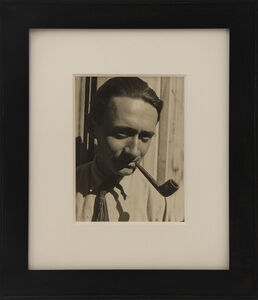 Maurice Tabard, 'Portrait of Roger Parry', ca. 1930