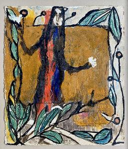 Louis Soutter, 'Personnages en guirlandes de feuilles', 1923-1930