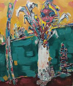 Workneh Bezu, 'Crystal Lady', 2016