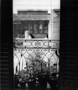 Anatole Saderman, 'Balcon de Victorica', 1951
