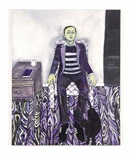 Raffi Kalenderian, 'Self Portrait (Purple Haze)', 2007
