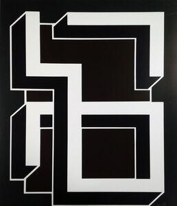 Bak Imre, 'Brown-green callygraphy ', 1981
