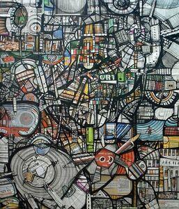 Kazi Salahuddin Ahmed, 'Sheer Chaos 20', 2012