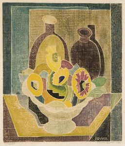 Blanche Lazzell, 'Marygolds.', 1930