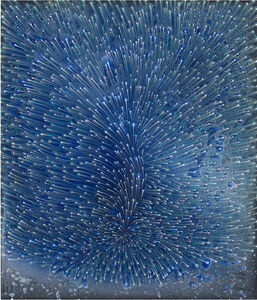 Barbara Takenaga, 'Blue Air', 2017