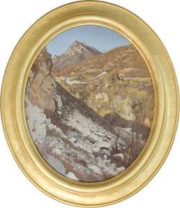 Zhao Bandi, 'Spirit Mountain P . M', 1991