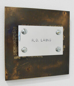 Richard Thatcher, 'From the Philosopher's Series: Laing, The Divided Self', 1989