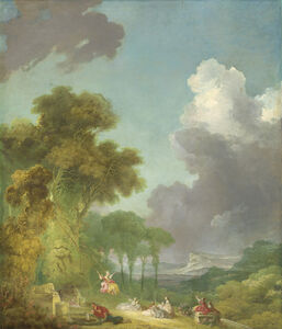 Jean-Honoré Fragonard, 'The Swing', ca. 1775/1780
