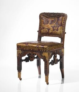 Herter Brothers, 'An Important Side Chair from the Dining Room of the William H. Vanderbilt House, New York', circa 1881-1882