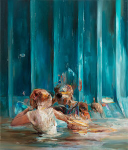 Dan Voinea, ' A Perfect Day for Diving III', 2020