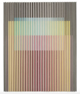 Yu Yang  于洋 (b. 1979), 'White Yellow Pink Green Grey Color Landscape', 2017