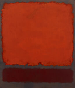 Mark Rothko, 'Orange, Red and Red', 1962