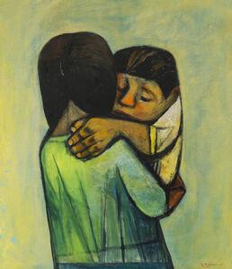 Eduardo Kingman, 'Mother and child', 1965