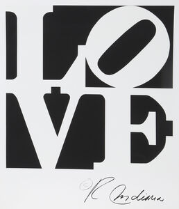 Robert Indiana, 'LOVE', ca. 1996